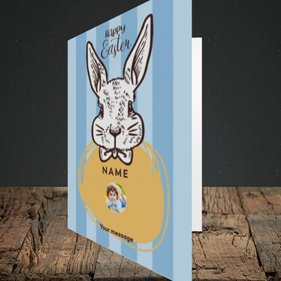 Picture of Bunny Of The Fells, Easter Design, Portrait Greetings Card