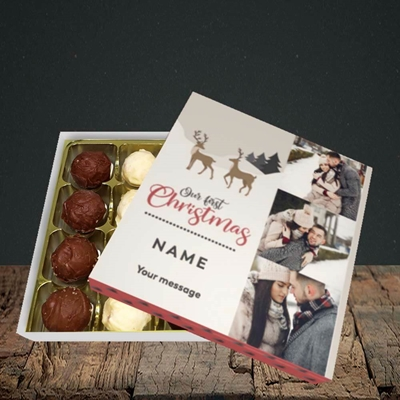Picture of Our First Christmas, Christmas Design, Choc 16