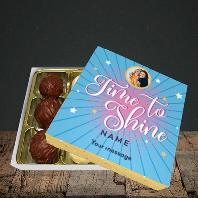 Picture of Time To Shine, Good Luck Design, Choc 9