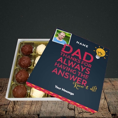 Picture of Know It All, Father's Day Design, Choc 16