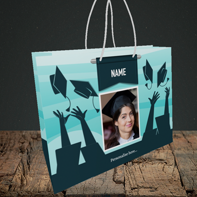 Picture of Hats, Graduation Design, Small Landscape Gift Bag