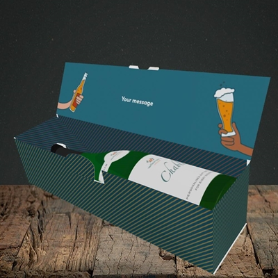 Picture of Sh*tfaced(Without Photo), Birthday Design, Lay-down Bottle Box
