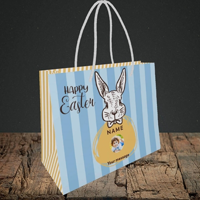 Picture of Bunny Of The Fells, Easter Design, Small Landscape Gift Bag
