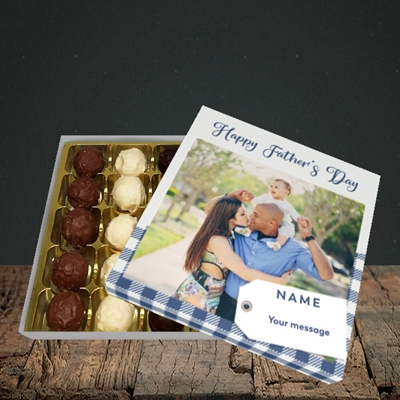 Picture of 1. Large Photo, Father's Day Design, Choc 25