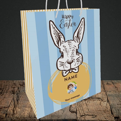 Picture of Bunny Of The Fells, Easter Design, Medium Portrait Gift Bag
