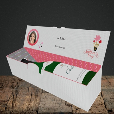 Picture of Happy Mother's Day Gifts, Lay-down Bottle Box