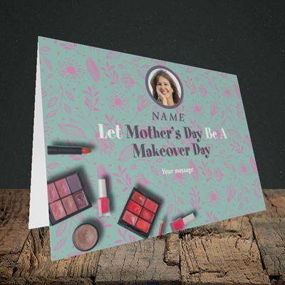 Picture of Makeover Day, Mother's Day Design, Landscape Greetings Card