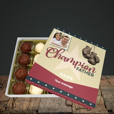 Picture of Champion Father, Father's Day Design, Choc 16