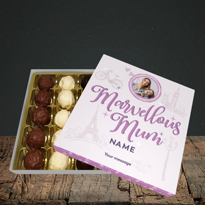 Picture of Marvellous Mum, Mother's Day Design, Choc 25