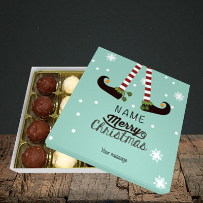 Picture of Elf, (Without Photo) Christmas Design, Choc 16