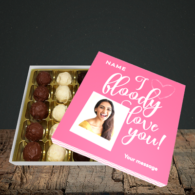 Picture of I Bloody Love You, Valentine's Design, Choc 25