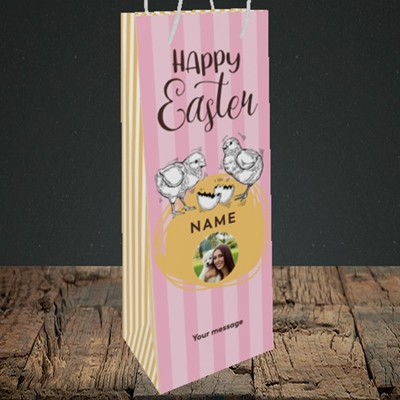 Picture of Little Chicks, Easter Design, Bottle Bag