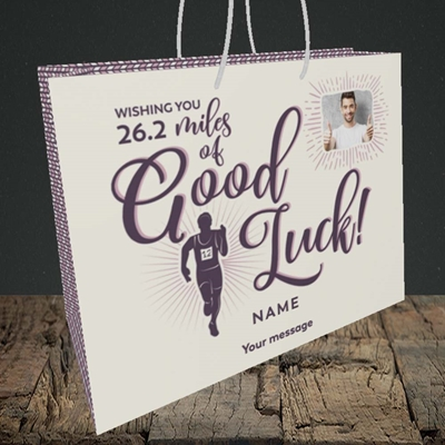 Picture of Miles of Luck, Good Luck Design, Medium Landscape Gift Bag