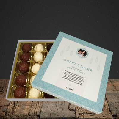 Picture of Moroccan Influences Teal SG, Wedding Design, Choc 25