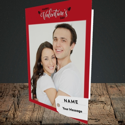 Picture of 1.A Valentine's Large Photo, Valentine's Design, Portrait Greetings Card