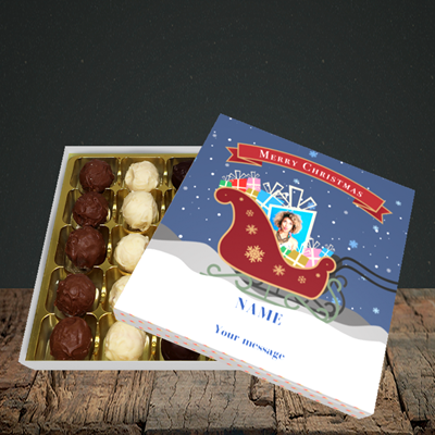 Picture of Sleigh Of Presents, Christmas Design, Choc 25