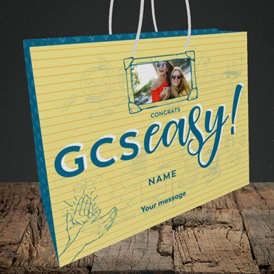 Picture of GCSeasy, Celebration Design, Medium Landscape Gift Bag