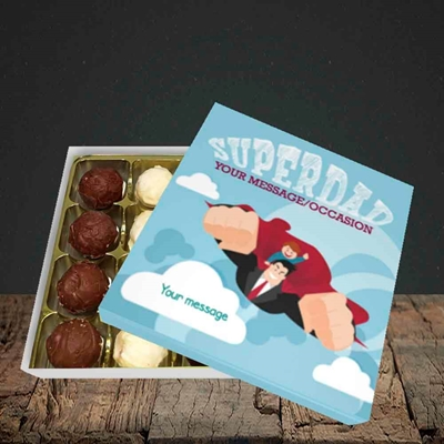 Picture of Superdad,(Without Photo) Father's Day Design, Choc 16