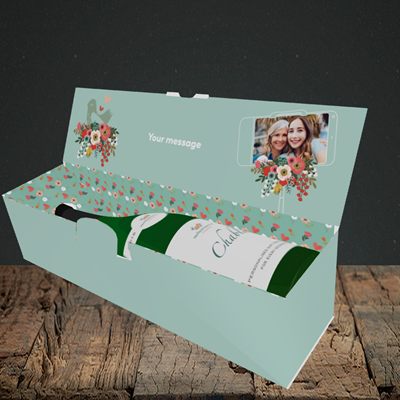 Picture of Best Looking Babies, Mother's Day Design, Lay-down Bottle Box