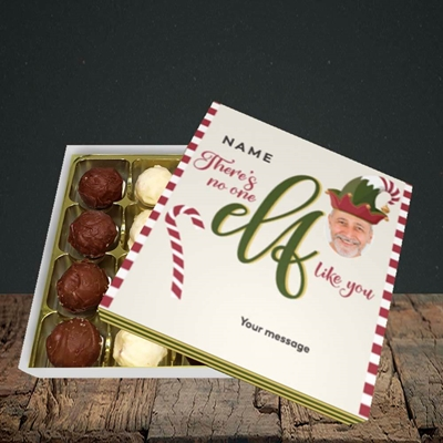 Picture of No One Elf, Christmas Design, Choc 16