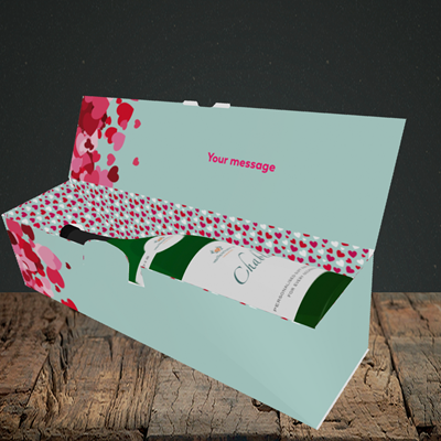 Picture of Favourite Husband(Without Photo), Valentine's Design, Lay-down Bottle Box
