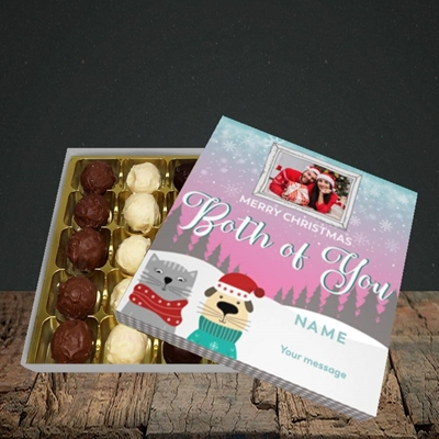 Picture of Both Of You, Christmas Design, Choc 25