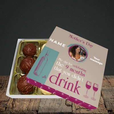 Picture of Didn't Drink, Mother's Day Design, Choc 9