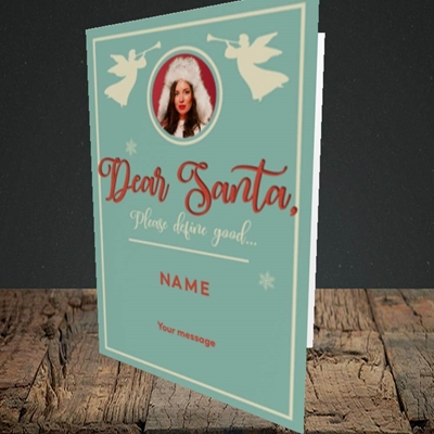 Picture of Define Good, Christmas Design, Portrait Greetings Card