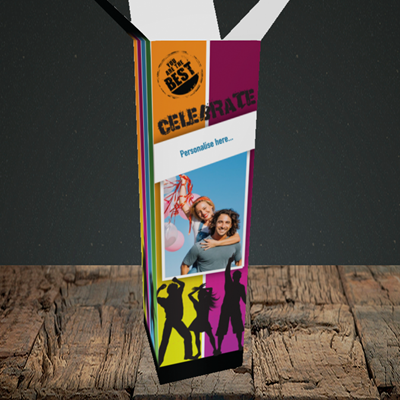 Picture of Silhouette, Celebration Design, Upright Bottle Box