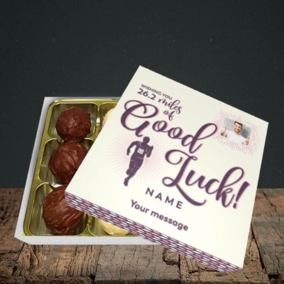 Picture of Miles of Luck, Good Luck Design, Choc 9