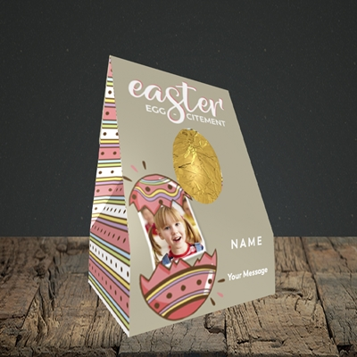 Picture of Egg-citement, Easter Design, Small Egg