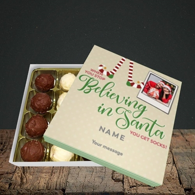 Picture of Believing In Santa, Christmas Design, Choc 16