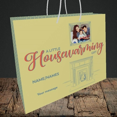 Picture of Housewarming, New Home Design, Medium Landscape Gift Bag