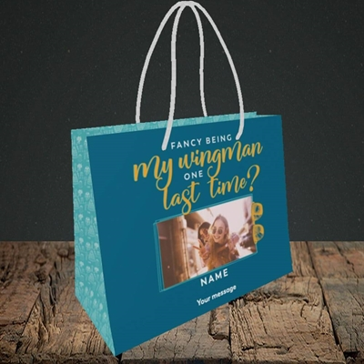 Picture of Wingman, Wedding Design, Small Landscape Gift Bag
