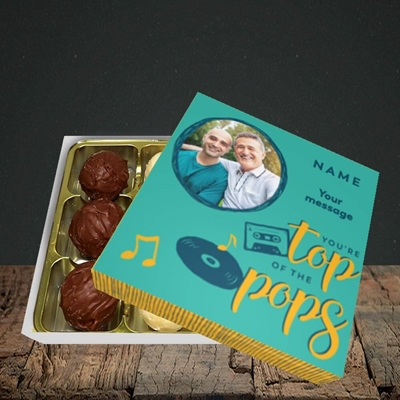 Picture of Top Of The Pops, Father's Day Design, Choc 9