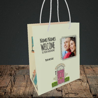 Picture of Doors, New Home Design, Small Portrait Gift Bag