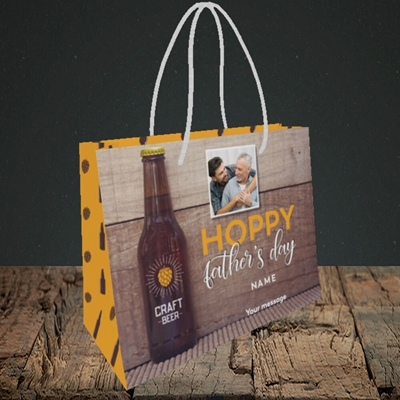 Picture of Hoppy, Father's Day Design, Small Landscape Gift Bag