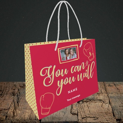Picture of You Can & You Will, Thinking of You Design, Small Landscape Gift Bag