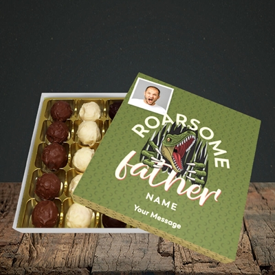 Picture of Roarsome Father, Father's Day Design, Choc 25