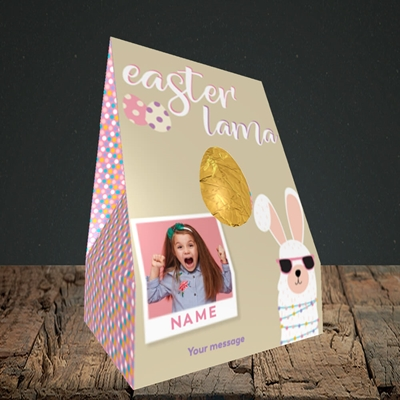 Picture of Easter Lama, Easter Design, Truffle Easter Egg