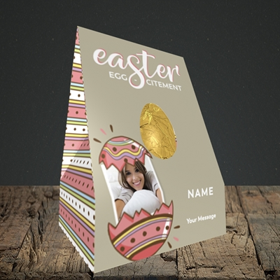 Picture of Egg-citement, Easter Design, Truffle Easter Egg