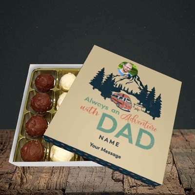 Picture of Camper Van With Dad, Father's Day Design, Choc 16