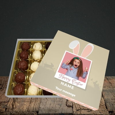 Picture of Hoppy Polaroid, Easter Design, Choc 25
