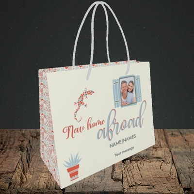 Picture of New Home Abroad, New Home Design, Small Landscape Gift Bag