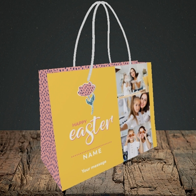 Picture of Easter Flower, Easter Design, Small Landscape Gift Bag