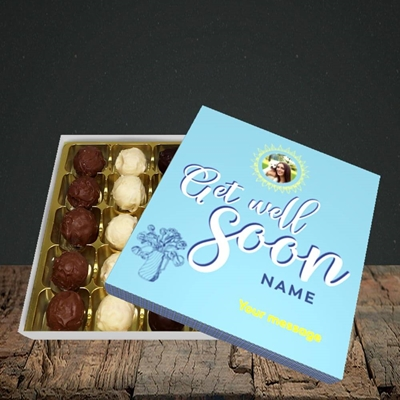 Picture of Sun & Flowers, Get Well Soon Design, Choc 25