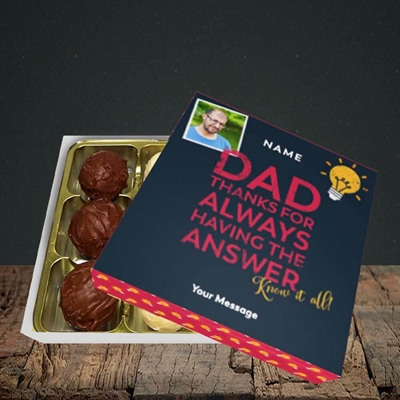 Picture of Know It All, Father's Day Design, Choc 9