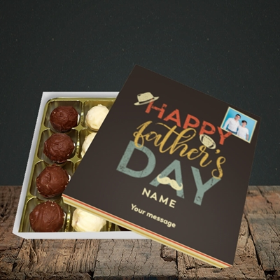 Picture of Retro, Father's Day Design, Choc 16