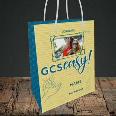 Picture of GCSeasy, Celebration Design, Small Portrait Gift Bag