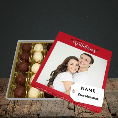 Picture of 1.A Valentine's Large Photo, Valentine's Design, Choc 25